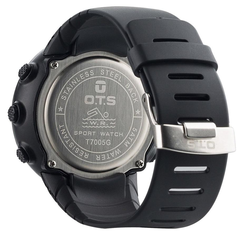 Mode Heren Merk OTS 7005G Shock Outdoor Waterdichte Zwemmen Sport - Herenhorloges - Foto 5