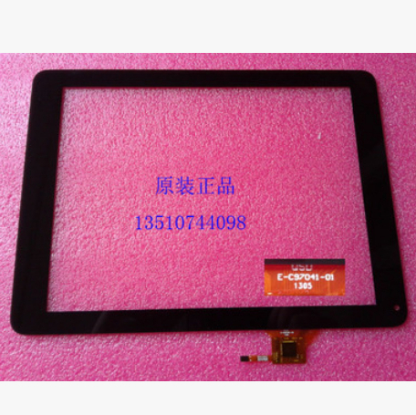 10PCS/lot Original New 9.7 inch Tablet QSD E-C97041-01 touch screen Touch panel Digitizer Glass Sensor Replacement Fr black white new 7 inch tablet touch panel screen e c7080 01 lcd digitizer sensor glass replacement qsd e c7080 03 free shipping