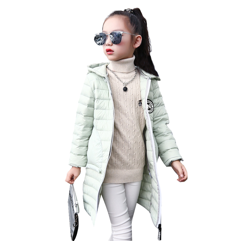 Long Coat Children Fashion Winter Clothes Baby Girl Down Parka Winter Warm Jacket Baby Girls Boys Hooded Child Snow Outerwear children winter coats jacket baby boys warm outerwear thickening outdoors kids snow proof coat parkas cotton padded clothes