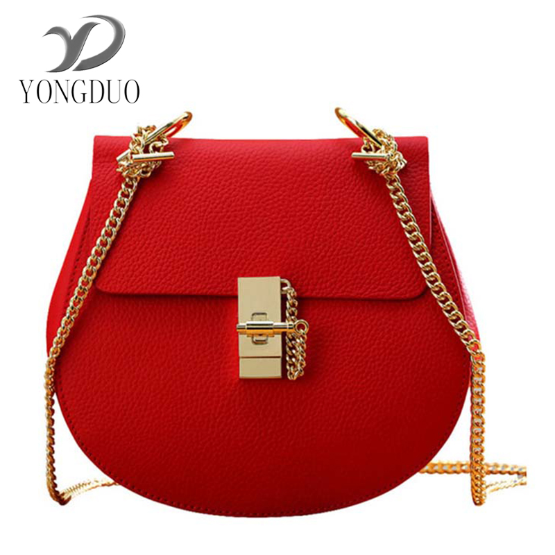 YONGDUO designer brand bags women leather handbags Chain Solid Shoulder Bag mini bags Woman Messenger Bag purses and handbags women shoulder bags for female fashion pu leather handbags chain solid shoulder bag mini bags woman messenger bag purses d38m12