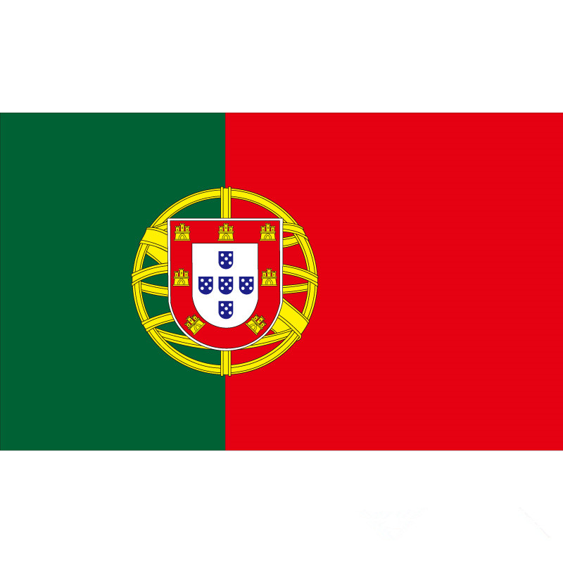 90*150cm/60*90cm/40*60cm/15*21cm Portugal Flag 3x5ft National Flag For World Cup / National Day / Olympic Games