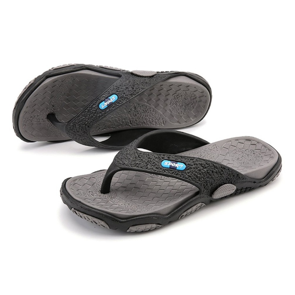 цены OUTAD Summer Men Flip Flops Men's Casual Massage Sandals Fashion Designer Slippers Breathable Non-slip Beach Shoes ZI236001