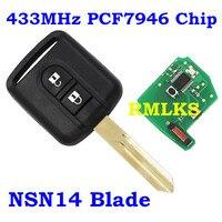 RMLKS Smart Remote Key Case Shell For KIA Optima Rio Rio5 Sportage Sorento Soul K3 433MHZ With 70 Chip Car Fob