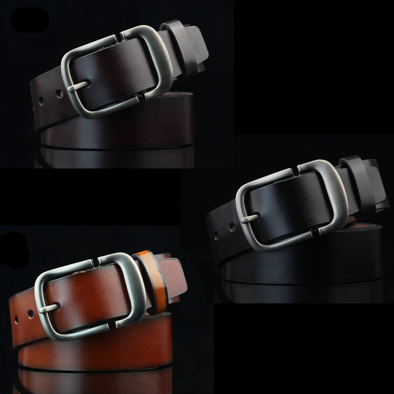 High quality artificial leather Business casual mens belt luxury goods high-end atmosphere grade black designer