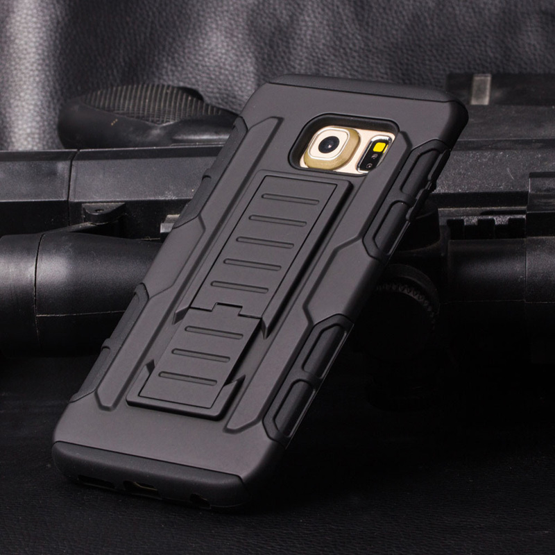new styles 517e2 fc3aa US $6.65 |3 in 1 Combo Military Phone Cases for Samsung galaxy note 5 case  Belt Clip Holster Armor for Samsung N9200 Shockproof Hard Case on ...