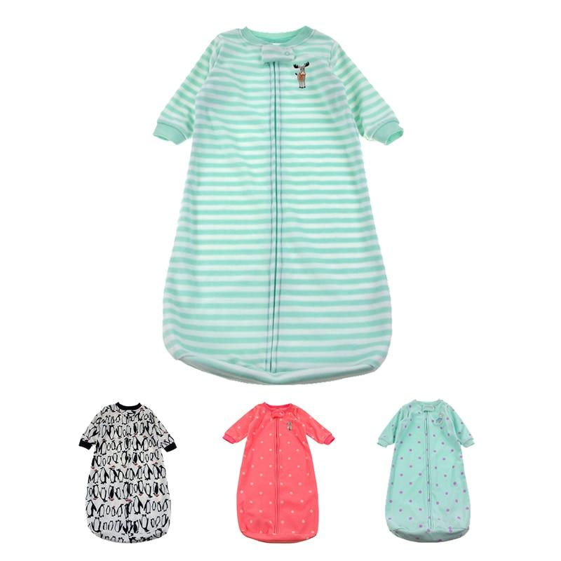 18337128a59 Baby Sleeping Bag Cute Sleep Sack For Newborn Polar Fleece Infant Clothes  style sleeping bags Sleeve