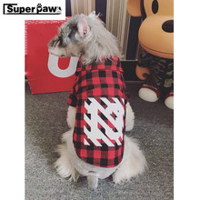 Fashion Pet Dog Shirt Summer Clothes For Small Medium Puppy Dogs Clothing Coat Schnauzer Vest Costumes French Bulldog KKC02