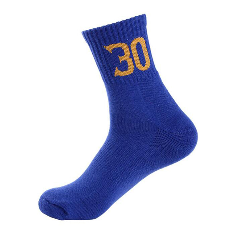 2 Pairs Sports Socks Men Outdoor Basketball Number Socks Breathable Male Socks Adults Running Football Short Socks
