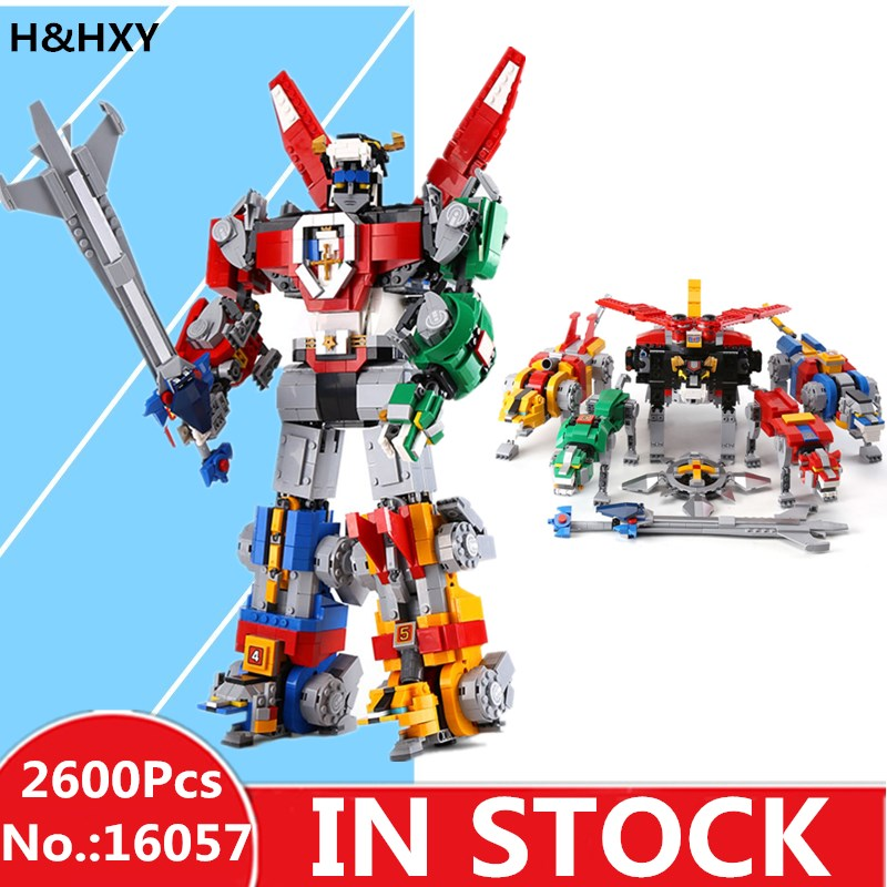 IN STOCK LEPIN 16057 2600 Pcs Movie Series 21311 Changing Robot Model Toys Building Blocks Bricks Kids Toys As Christmas Gifts new 1628pcs lepin 07055 genuine series batman movie arkham asylum building blocks bricks toys with 70912 puzzele gift for kids
