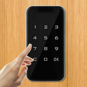 Image 5 - Drawers Door Wardrobes Cabinet TouchScreen Safety Code Protection Anti Theft Electronic Digital Smart Password Lock Keypad