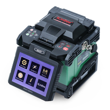 DHL/ Fedex Free Shipping Orientek T37 FTTH Optical Fiber Fusion Splicer Welding Splicing Machine недорого