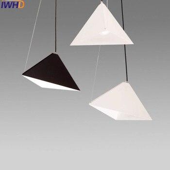 IWHDที่ทันสมัยโคมไฟเหล็กนำแสงจี้ที่ทันสมัย