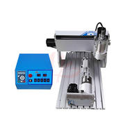CNC router mini 3040 milling machine 800w water cooling spindle