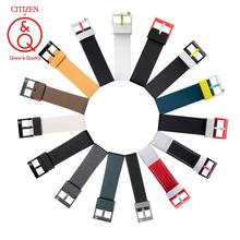 Citizen Q&Q Light energy fashion trend watch Strap Relogio Masculino