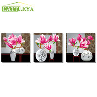 CATTLEYA,Flower arranging 5D DIY diamond Painting orchid flower Cross Stitch diamond embroidery mosaic wall stickers home decor