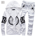 2016 Spring Brand Fashion Men Tracksuit Patchwork Mens Sportwear Suit Set OutdoorWear Hip Hop Sweatshirt  Suits For Me