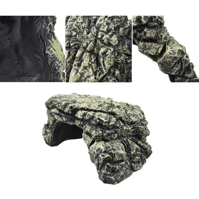 High Degree of Simulation Elegant and Delicate Shape Reptile Cave Den Herp Habitat Reptile Rock Hide Cave Habitat