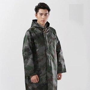 Мужской непромокаемый камуфляжный комбинезон, дышащая парка для рыбалки, непромокаемое пальто, непромокаемый комбинезон из ПВХ, 50A0068