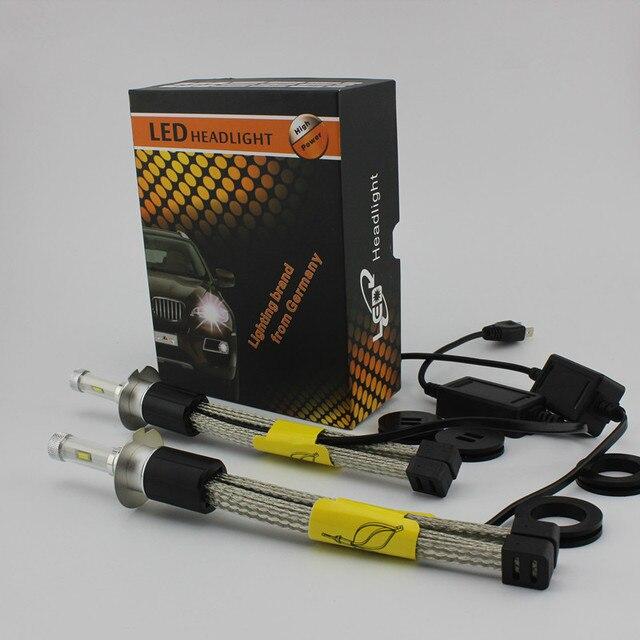 Ossen R4 LED H7 Faros Antiniebla 3600lm Bombilla 4300 k Blanco Amarillo 30 w H11 LED Faros HB3 HB4 H10 9012 D2R D1R D1S D3R D4R