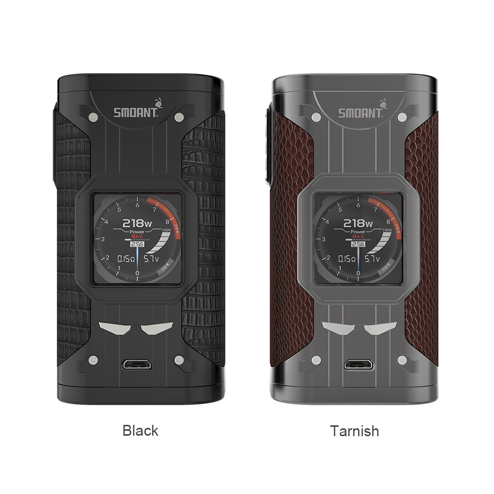 Original Smoant Cylon 218W TC Box MOD Powered By Dual 18650 Cells Fast Firing & Updated Ant218 V2 Chipse Ecig Vape Mod VS Drag 2-in Electronic Cigarette Mods from Consumer Electronics    2