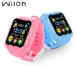 Smart watch kids GPS tracker waterproof camera 2.5D Touch screen Children GPS watches SOS Location multilingual 2G SIM card