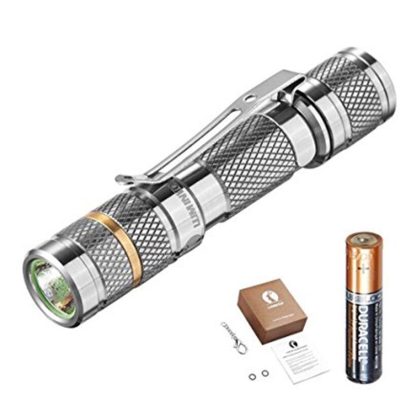 LUMINTOP <font><b>Color</b></font> <font><b>Rendering</b></font> Tool Ti AAA With Battery flashlight Nicha 219BT Torch Max 47Meters Beam Distance