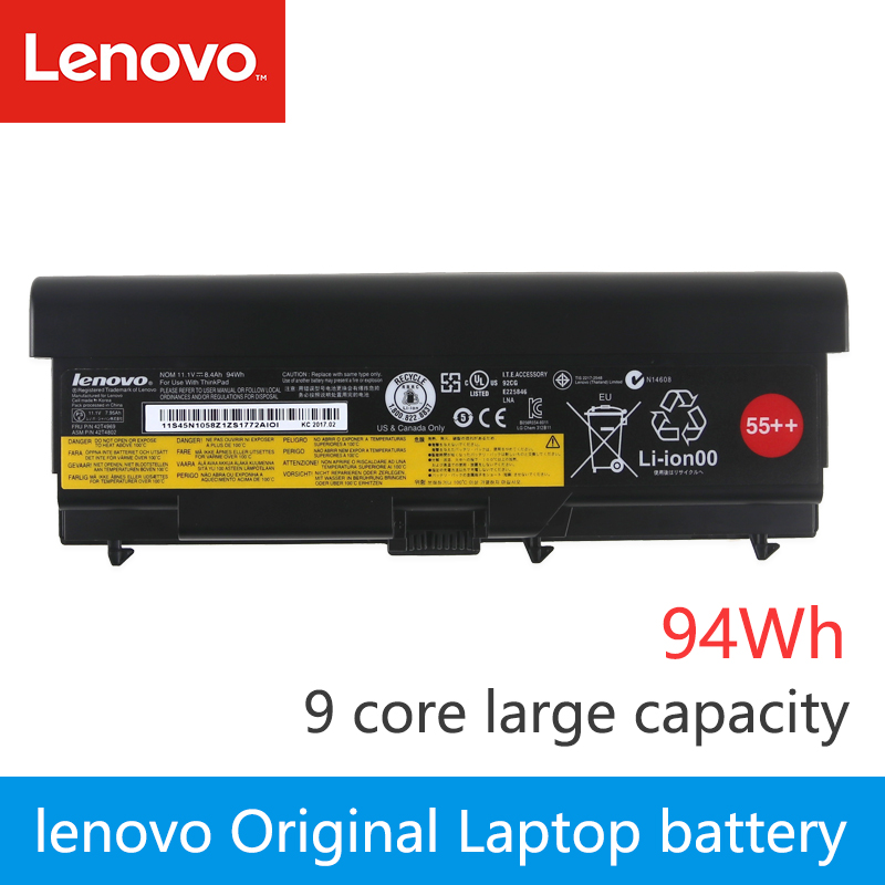 Original Laptop Battery For Lenovo Thinkpad T420 SL410 SL410K T410 T510 E520 E50 W510 W520 L412 L420 L421  T520 94Wh  9 Core