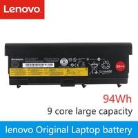 Original da bateria Do Portátil Para Lenovo Thinkpad T420 SL410 SL410K T410 T510 E520 E50 W510 W520 L412 L420 L421 T520 94Wh 9 núcleo|Baterias p/ laptop| |  -