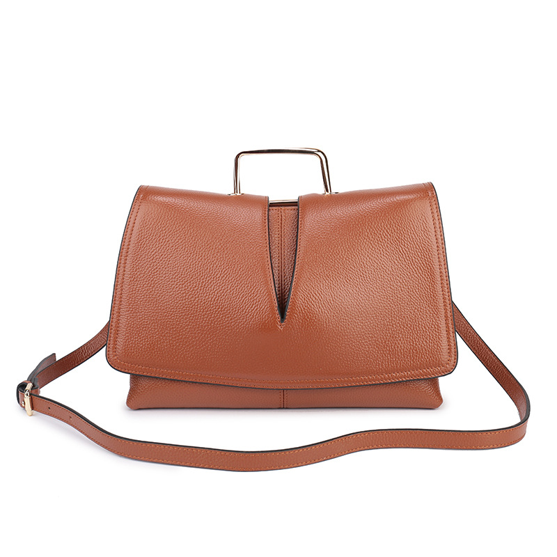 P262 European and American New Fashion Women Bag leather cowhide leather Crossbody Bags Female Single Shoulder Bag