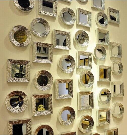 Mur décoratif en céramique.