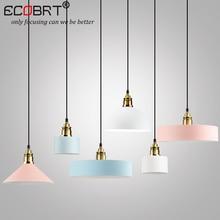 hot deal buy new style creative wood iron pendant lights dining room iron metal hanging lamps pendant lights bar nordic designer light