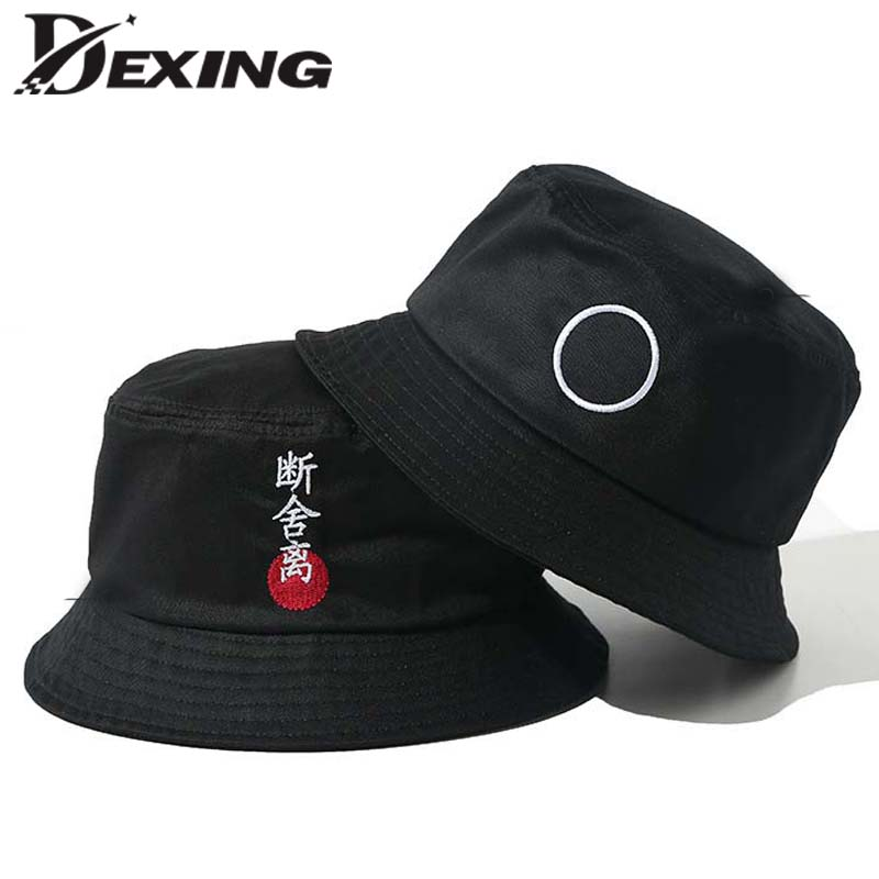 cotton unisex casual Bucket Hat men women Bob Caps Hip Hop Summer Panama Sun  Cap sad 99fda8a94afc