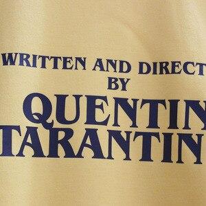 Image 4 - GAAJ נכתב ובוים על ידי קוונטין טרנטינו גברים נשים סווטשירט צהוב כותנה זכר איש צמר Streetwear היפ הופ מותג 3XL
