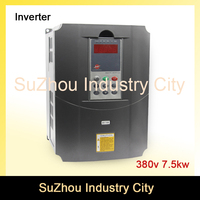 380v 7 5kw VFD Variable Frequency Drive VFD Inverter 3HP Input 3HP Output CNC Spindle Motor