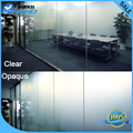 Smart film glass switchable privacy glass for meeting room/2014 New High Quality smart film magic glass Manufactory
