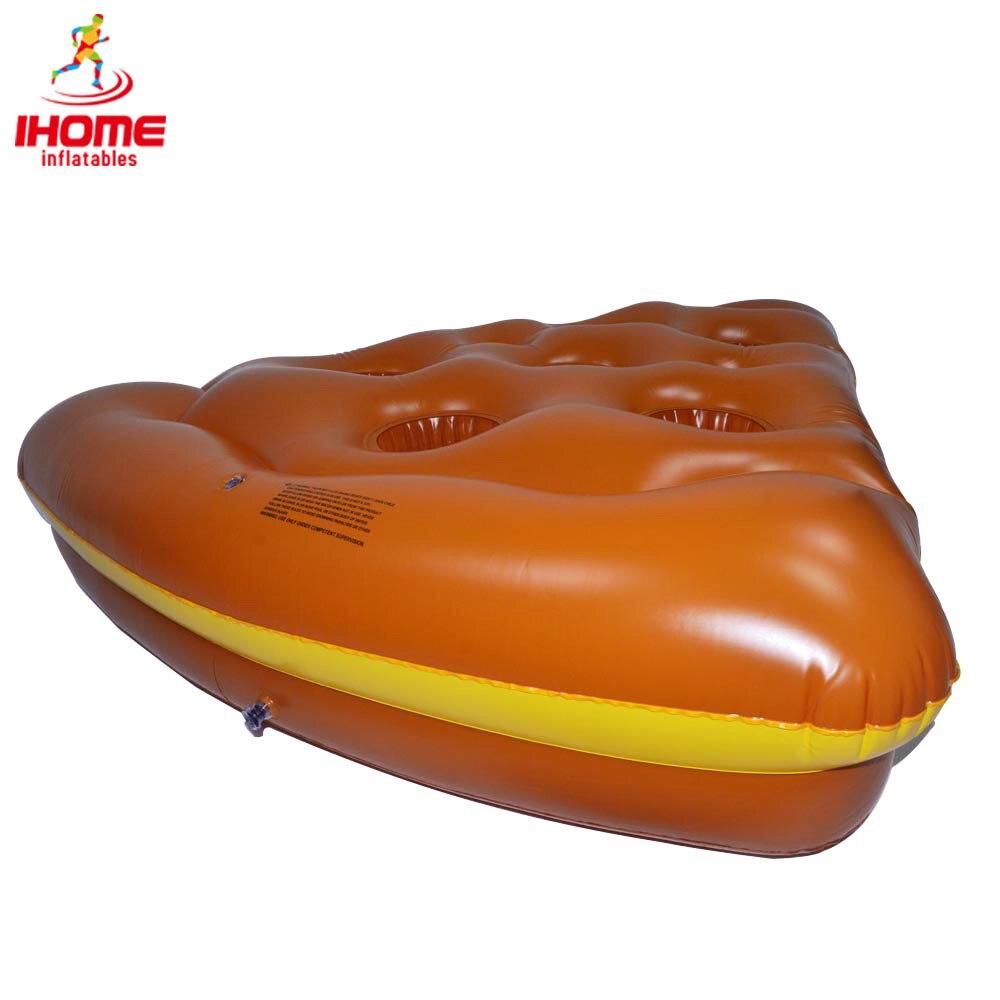 Hot selling Pizza Slice Pool Float 5 Fødder Lang Kæmpe Flydende Raft Svømmebassiner Vandlegetøj