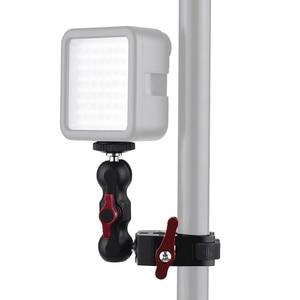 "Image 3 - Andoer Multi Function Super Clamp Ball Head ClampแขนMagic Super Clamp W/1/4 ""สำหรับGPS LCD/จอภาพDV Video Light"