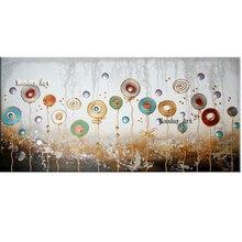 Большой Размер Ручной Росписью Абстрактная Живопись Маслом кухня искусство Современного Искусства
