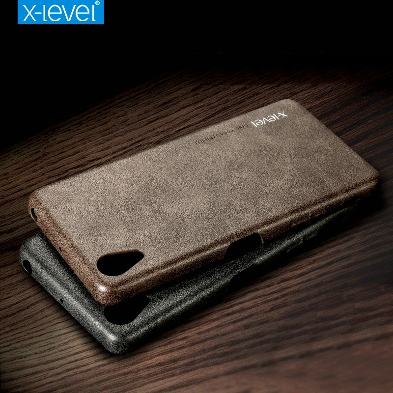 X Level For Sony Xperia X Performance Case Retro Luxury PU Leather Back Cover Slim Fundas
