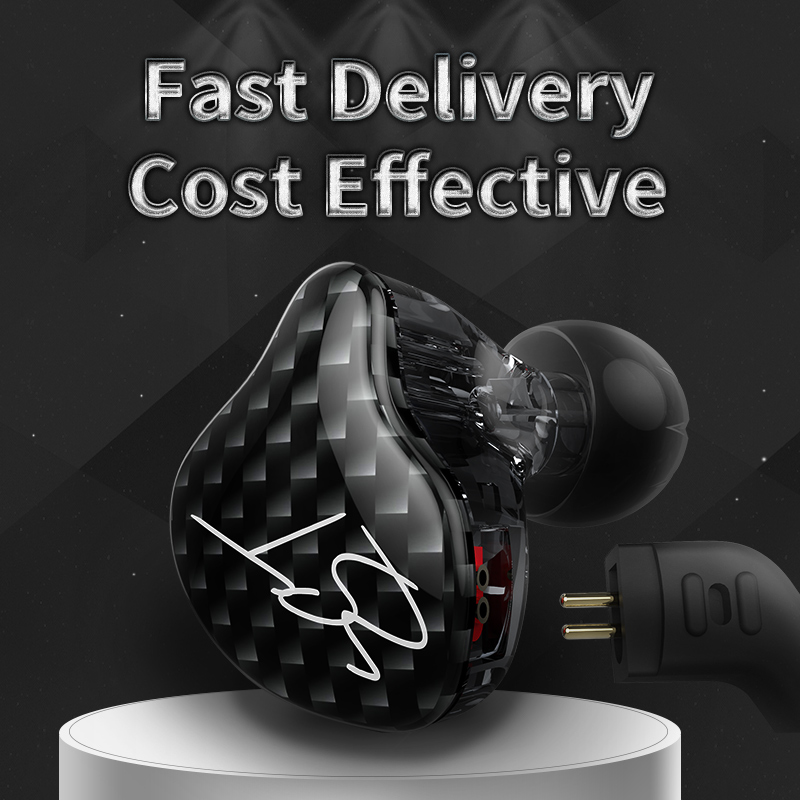 KZ ZST Dual Driver Earphone Dynamic And Armature Detachable Bluetooth Cable Monitors Noise Isolating HiFi Music Sports Earbuds 4