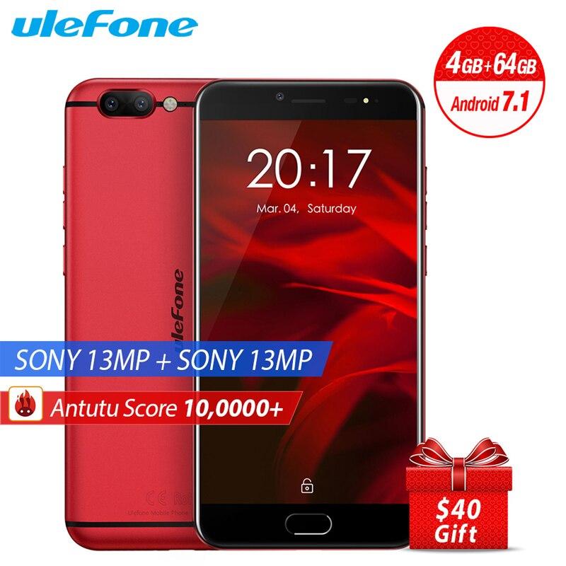 Original Ulefone Gemini Pro Mobile Phone 5 5 FHD 4GB RAM 64G ROM MTK6797 Helio P27