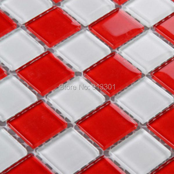 Crystal Glass Tile Sheets Discount Kitchen Backsplash
