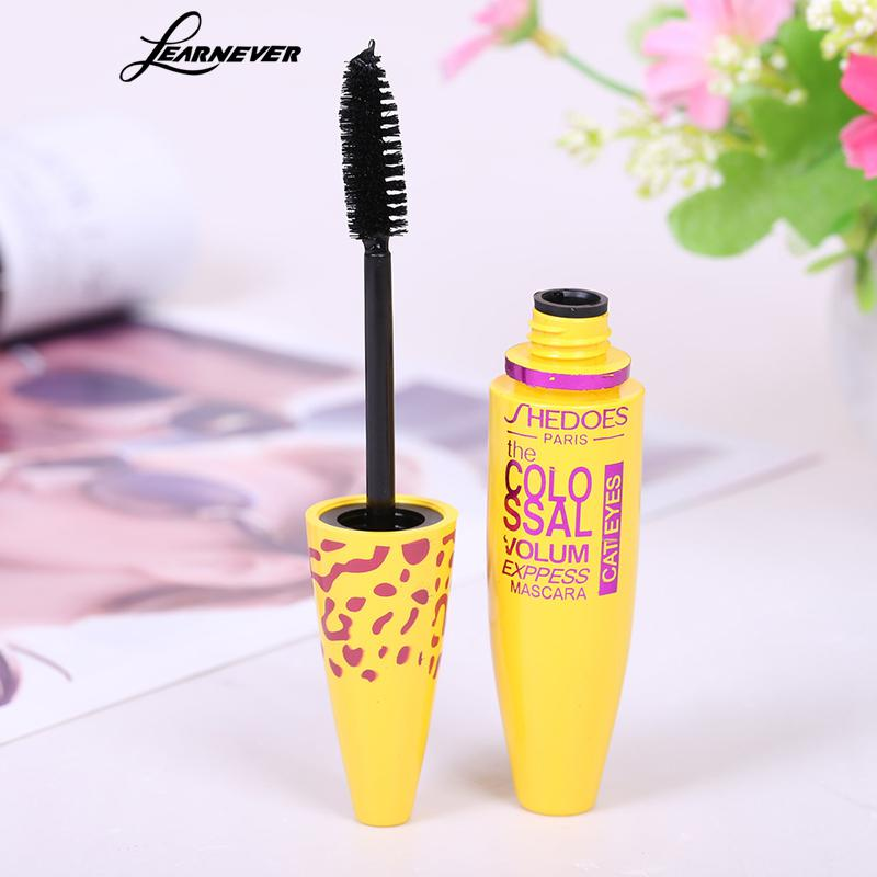 Image 4 - 1pc Makeup Mascara Eyes 3D Fiber Lashes Volume Cosmetic Makeup Extension Length Long Curling Black 3D Mascara Eye Lashes Tools-in Mascara from Beauty & Health