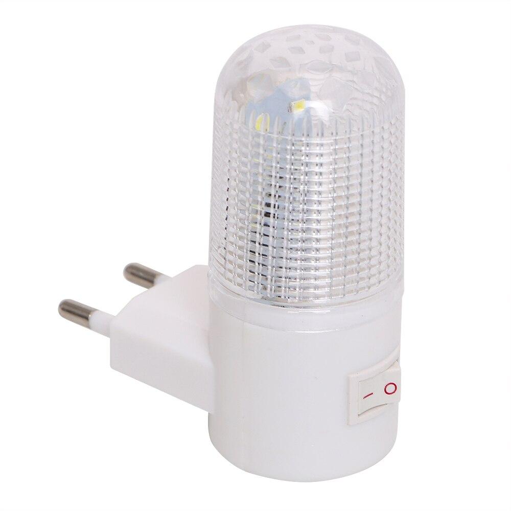 Lámpara de pared de 4 LEDs enchufe de la UE enchufe de EE. UU. Iluminación de pared para el hogar de 3W luz de emergencia LED de noche lámpara de noche de bajo consumo Lámpara de mesa minimalista moderna nórdica para sala de estar bola de cristal blanco luz de mesa trípode de hierro bola redonda lechosa lámpara de escritorio lectura