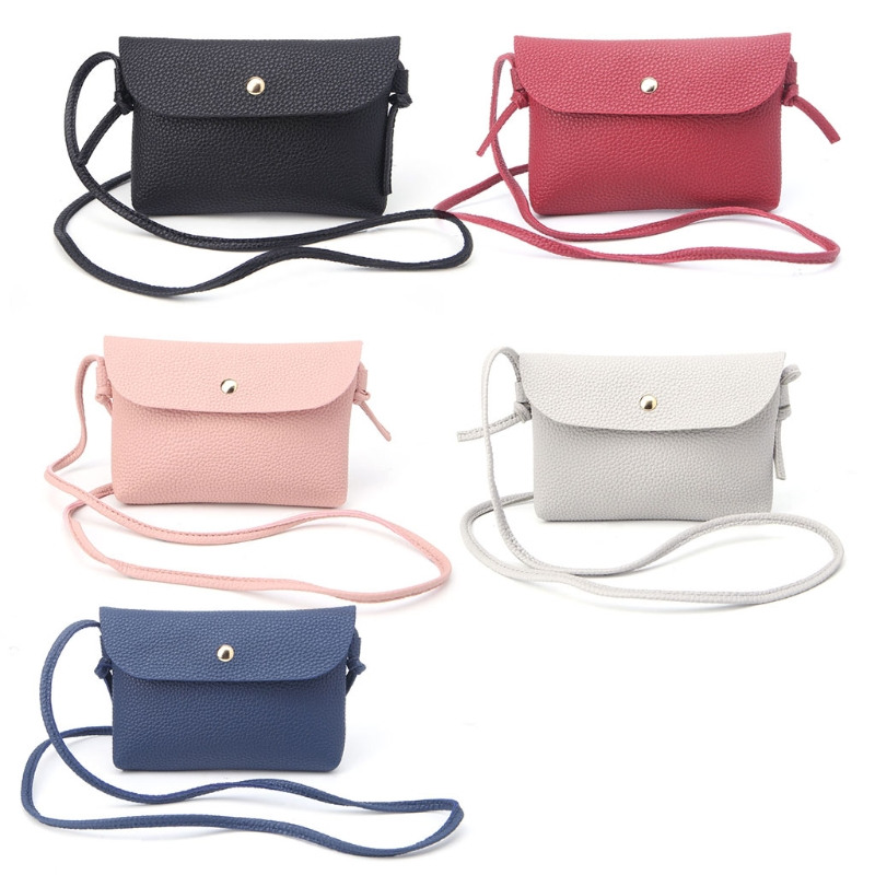 Crossbody Bag Red Blue Rose And Hydrangea Womens Casual Phone Pouch Round Shoulder Bag