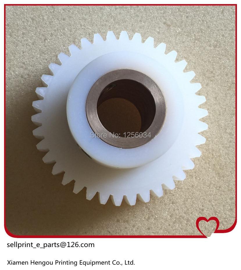 ФОТО free shipping 1 piece komori printing machine spare parts gear 38 teeth