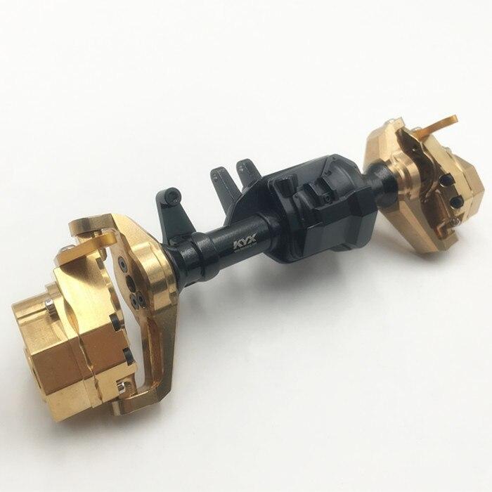 Kyx legering vooras cover voor Traxxas TRX 4 met brass knuckle set-in Onderdelen & accessoires van Speelgoed & Hobbies op  Groep 1