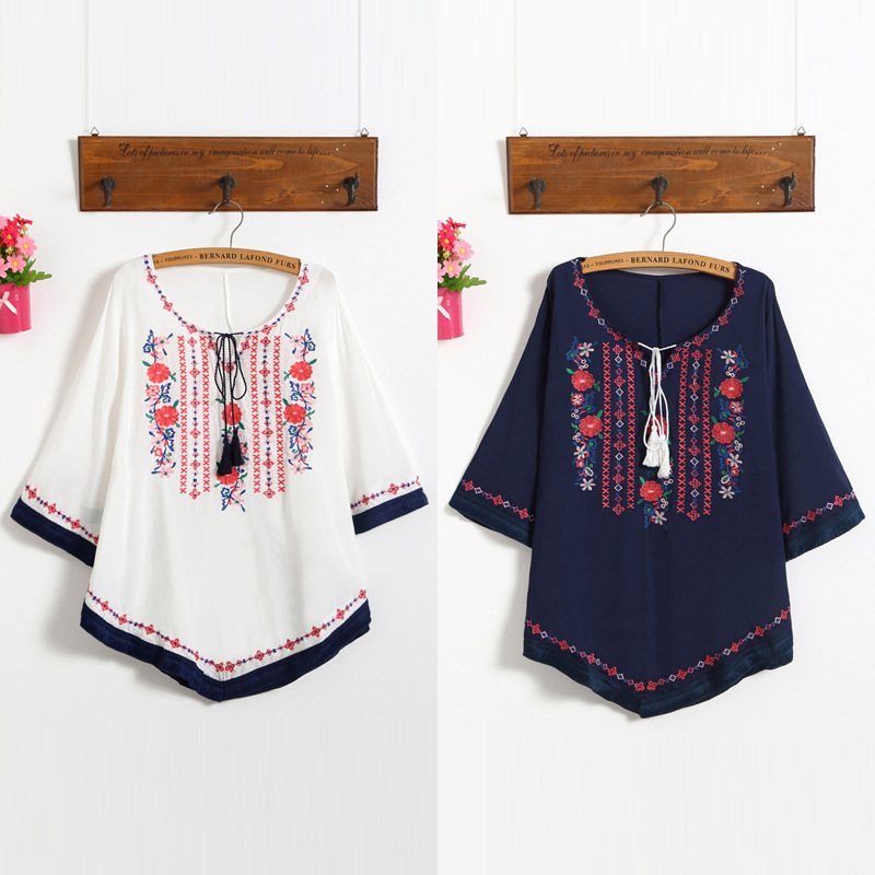 Maternity Clothing Cheap Price Embroidery Cotton Maternity Shirt Spring & Summer & Autumn Blouse Tops Clothes For Pregnant Women Pregnancy Clothes Pregnancy & Maternity