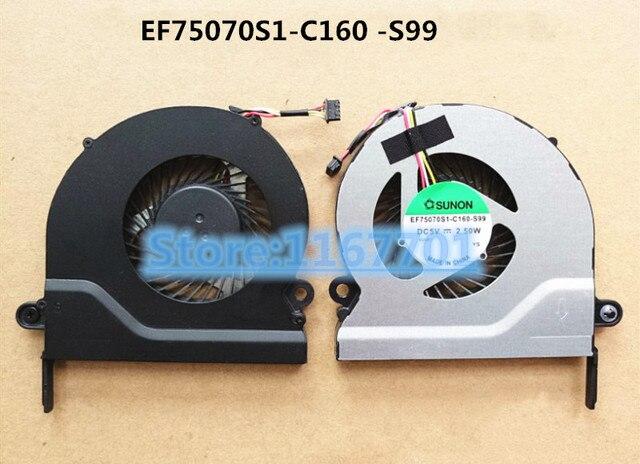 New Original Laptop/Notebook CPU Cooling Fan For Acer Aspire E5 E5-731 E5-771 E5-771G ZYW EF75070S1-C160 -S99 DFS531005PL0T-FFT2
