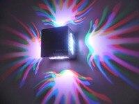 2015 nuevo diseño de Luces 3*3 w Punto 4 unids/lote llevó Abajo de Luz Con alto Lumen Llevó Las Luces de pared, envío Libre
